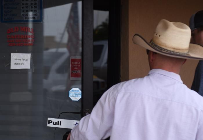 July 31, 2018 at Old Mill Restaurant in Pecos.James Durbin/Reporter-Telegram