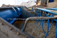 A wet plant is used to sort sand at the Hi-Crush sand mine, Sept. 7, 2017, north of Kermit, Texas. MANDATORY CREDIT: Hi-Crush / TheOilfieldPhotographer.com