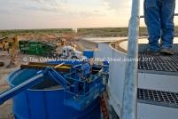 Wet plant operators look on as sand is sorted at the Hi-Crush sand mine, Sept. 7, 2017, north of Kermit, Texas. MANDATORY CREDIT: Hi-Crush / TheOilfieldPhotographer.com