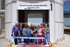 Hi-Crush sand mine Kermit facility grand opening Sept. 18, 2017, north of Kermit, Texas. Mandatory Credit: The Oilfield Photographer .com