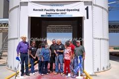 Hi-Crush sand mine Kermit facility grand opening Sept. 18, 2017, north of Kermit, Texas. Mandatory Credit: The Oilfield Photographer .com