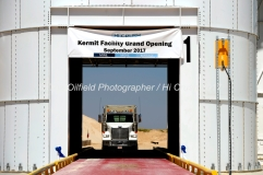 Hi-Crush sand mine Kermit facility grand opening Sept. 18, 2017, north of Kermit, Texas. Mandatory Credit: The Oilfield Photographer .com / Hi-Crush