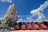 Halliburton equipment at a fracking site managed by Octane Energy on Friday, Sept. 23, 2016 near Stanton. James Durbin/Reporter-Telegram